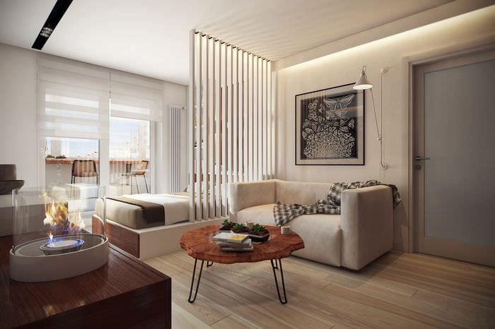 интерьер однокомнатной квартиры 36 м2
