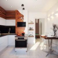интерьер однокомнатной квартиры 45 кв м дизайн