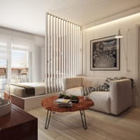 интерьер однокомнатной квартиры 45 кв м фото
