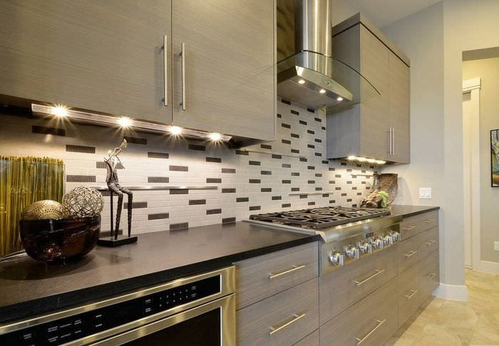 кафель и плитка на кухне