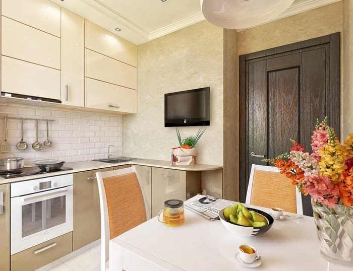 кухня в хрущевке фото
