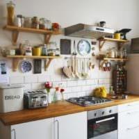дизайн кухни 6 кв м современный