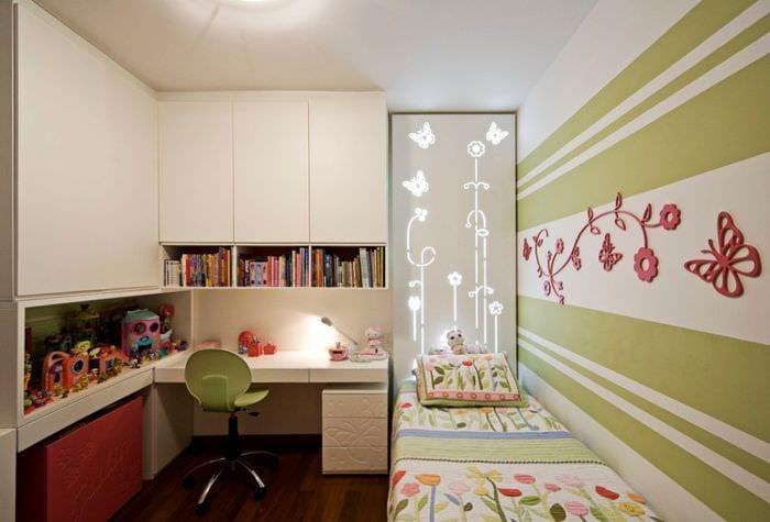 компактная детская комната