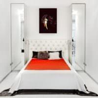 дизайн маленькой узкой спальни