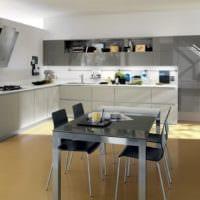 кухня без верхних шкафов идеи дизайн