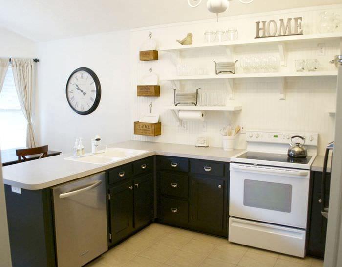 Кухня в стиле ретро фото идея год