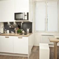 кухня в хрущевке дизайн