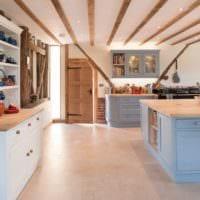 кухня в стиле кантри декор идеи