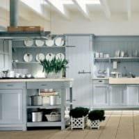 кухня в стиле кантри дизайн идеи