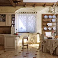 кухня в стиле кантри фото дизайна