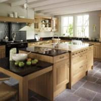 кухня в стиле кантри идеи
