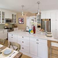 кухня в стиле кантри идеи декор