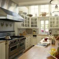 кухня в стиле кантри идеи дизайн