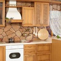 кухня в стиле кантри идеи дизайна