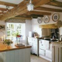 кухня в стиле кантри идеи интерьера
