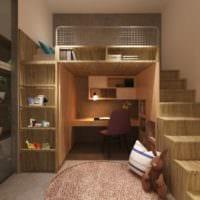маленькая детская комната дизайн
