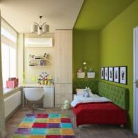 маленькая детская комната интерьер фото