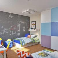 маленькая детская комната планировка