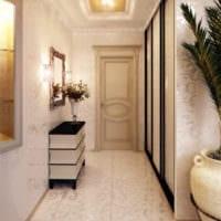 маленький коридор прихожая дизайн