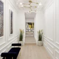 маленький коридор прихожая фото