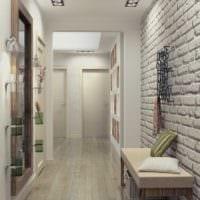 маленький коридор прихожая фото интерьера