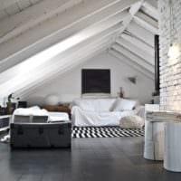 мансарда в частном доме дизайн