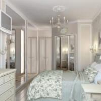 милый дизайн маленькой спальни