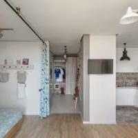 однокомнатная квартира 42 кв м практичный дизайн