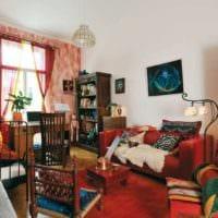 однокомнатная квартира для семьи с ребенком фото интерьера