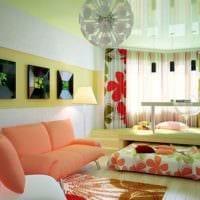 однокомнатная квартира для семьи с ребенком идеи планировки