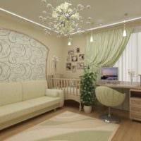 однокомнатная квартира для семьи с ребенком планировка