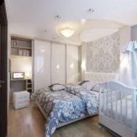 однокомнатная квартира для семьи с ребенком планировка идеи