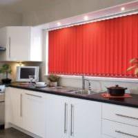 оформление окон на кухне