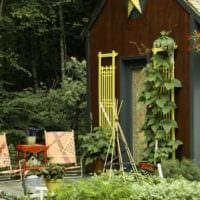 огород с грядками идеи
