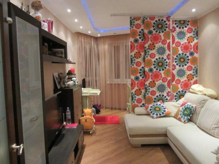 планировка однокомнатной квартиры для семьи с ребенком