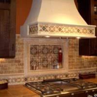 плитка на кухню фото интерьер