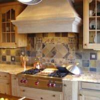 плитка на кухню фото интерьера