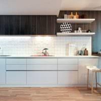 плитка на кухню интерьер