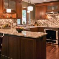 плитка на кухню современный дизайн