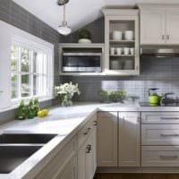 плитка на кухне фото дизайн