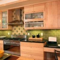 плитка на кухне интерьер идеи
