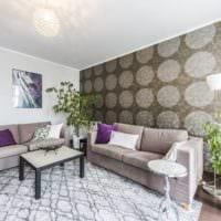 потолок гостиная дизайн