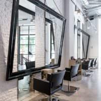 салон красоты парикмахерская дизайн интерьер