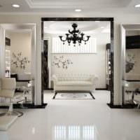 салон красоты парикмахерская дизайн помещения