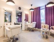 салон красоты парикмахерская дизайн зала