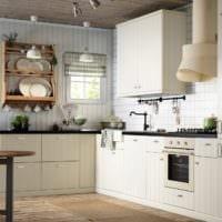 угловая планировка кухни