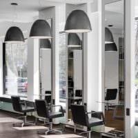 дизайн салона красоты зеркала