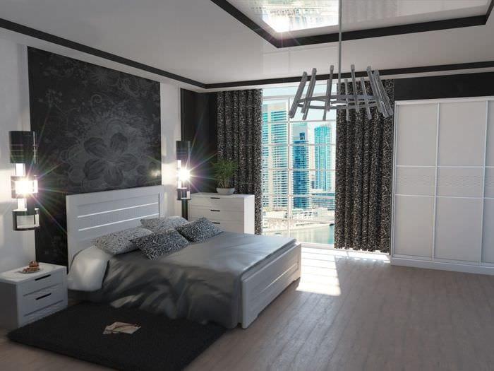 дизайн современной спальни 2018
