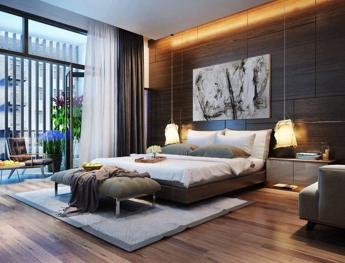 шторы в спальне 2018