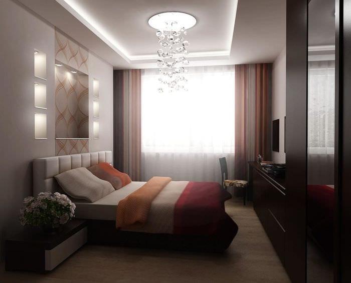 мебель в спальне 10 кв м